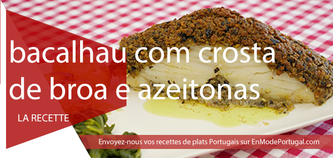 bacalhau com crosta en mode portugal